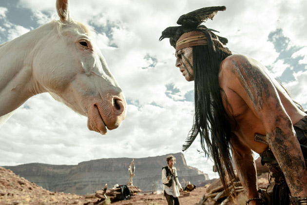 Tonto and Silver