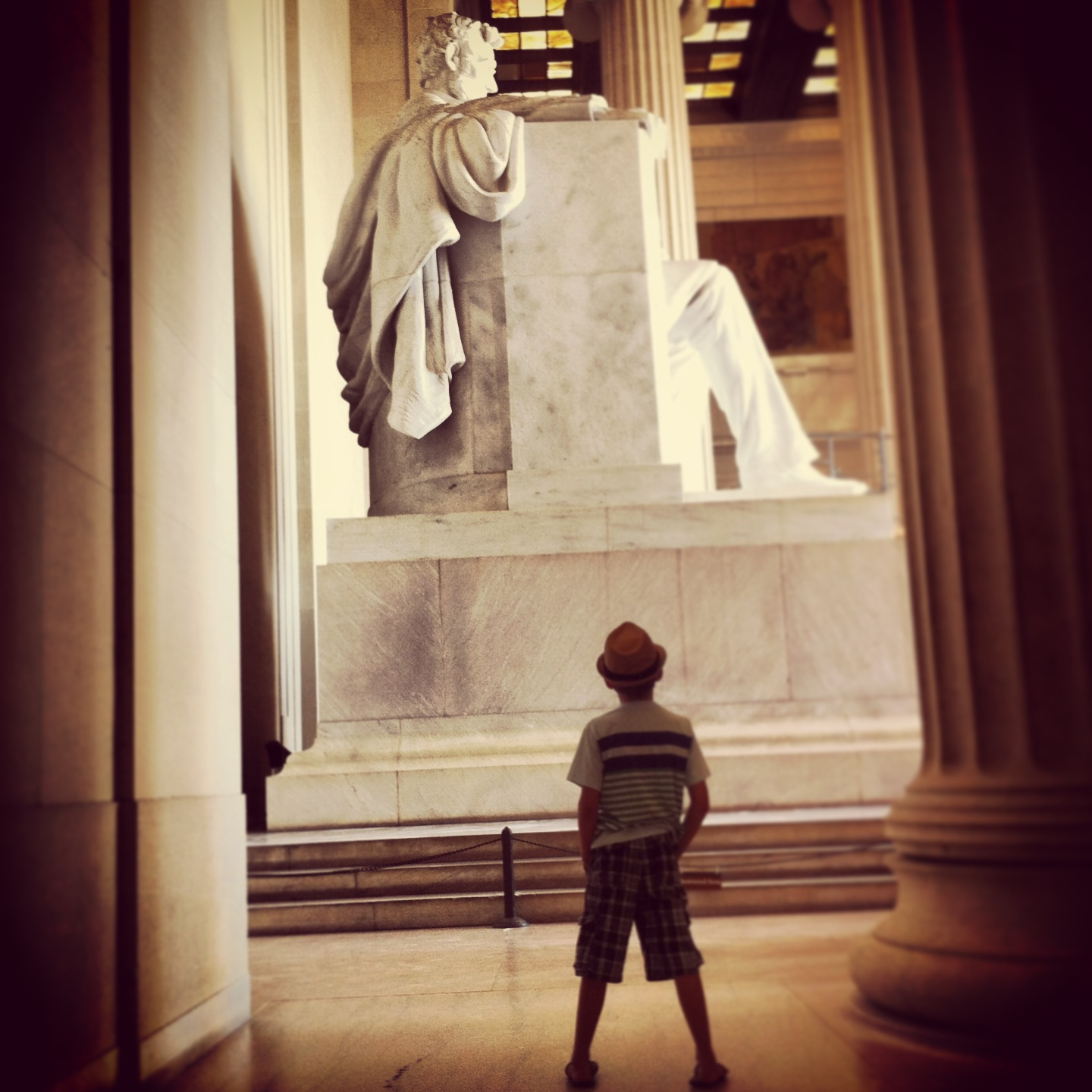 lincoln memorial, d.c., zane honea