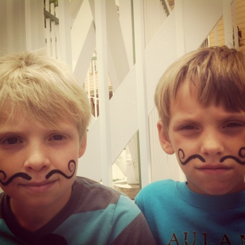 mustache, moustache, movember, kids, boys, men, honea, sons, whit honea, atticus, zane,health, donate