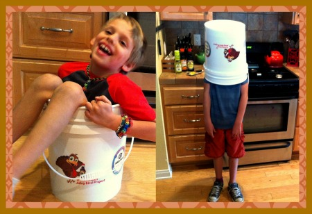 brine, bucket, thanksgiving, kitchen, turkey, kids, family, fun, humor