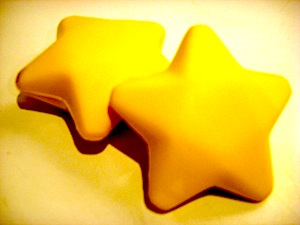 stars, yellow, toy, puffy