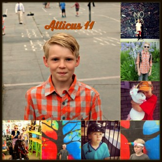 atticus, son, 11, birthday, honea, whit honea