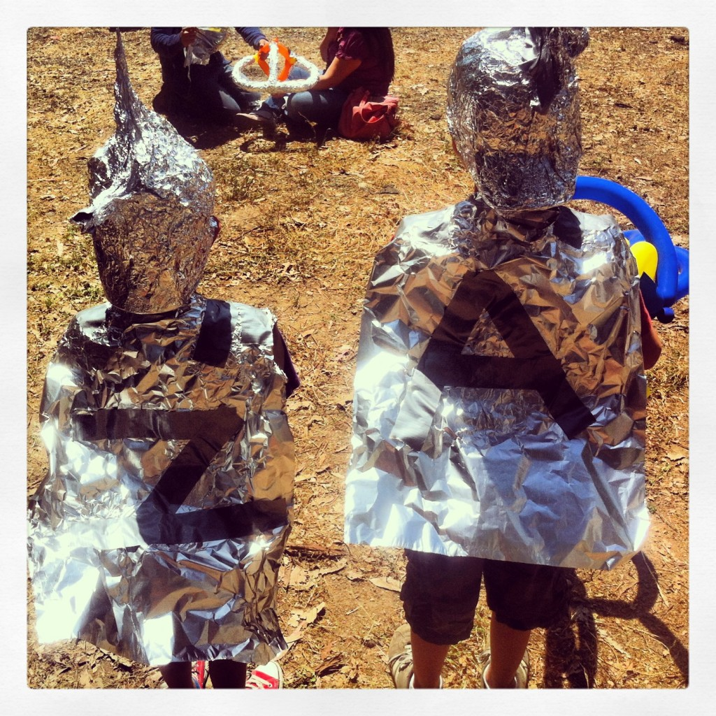 games with tinfoil