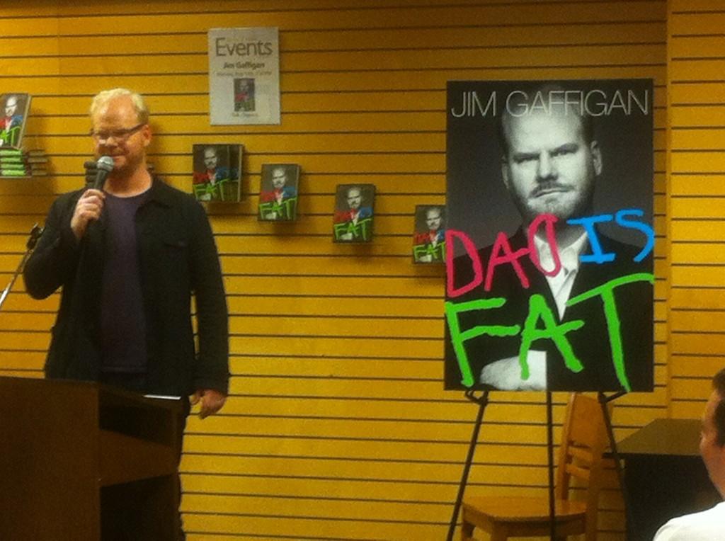 Gaffigan book signing