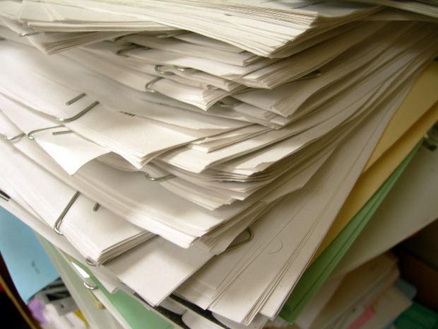 paper, inbox, homework