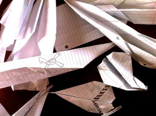 paper, plane, airplane