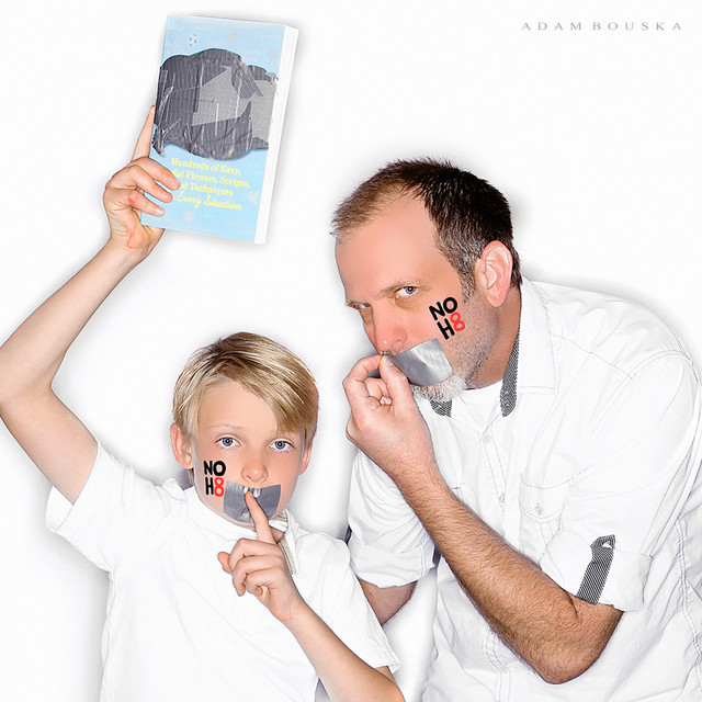 noh8, parents, phrase, book, honea, whit honea, atticus, book