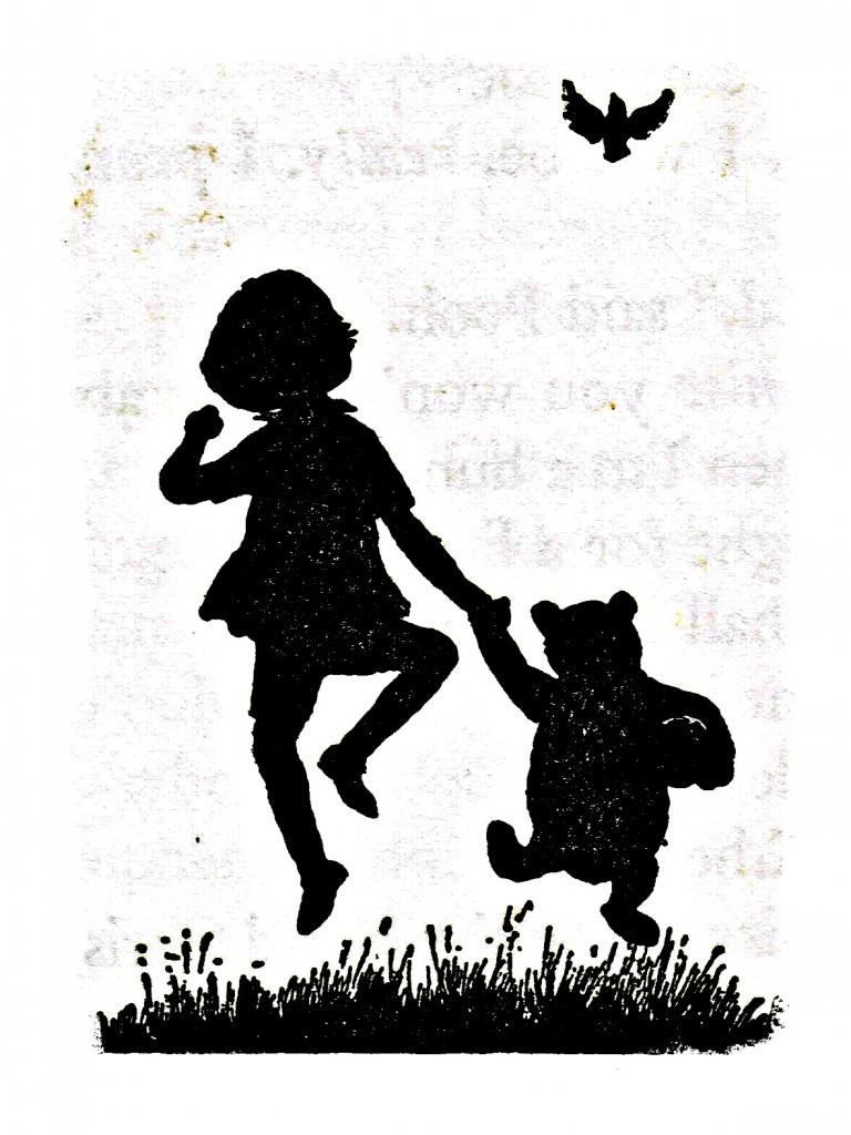 winnie the pooh, christopher robin, book, e h shepard
